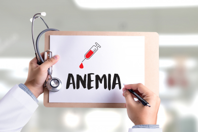 blood count sign for anemia